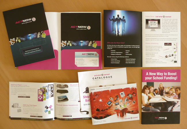 Act Now One Marketing Materials
