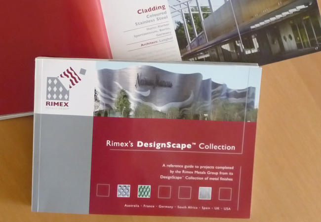 Rimex Designscape Coffee Table Brochure